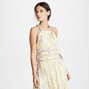 Rebecca Taylor Lemon Pleat Dress, Size 0 & 6